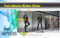 Front Adhesive Window Sticker