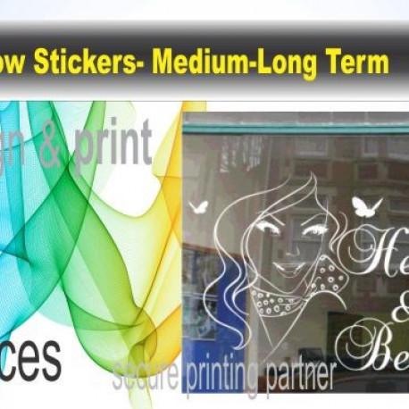 Window Sticker -Medium Long Term