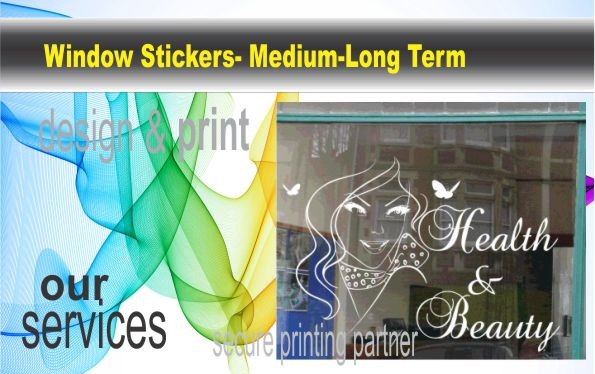 Window Sticker, High quality printed window decals are fully customisable and surprisingly inexpensive