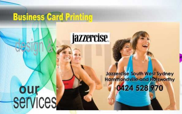 Business Cards Gloss Laminated (Front)
