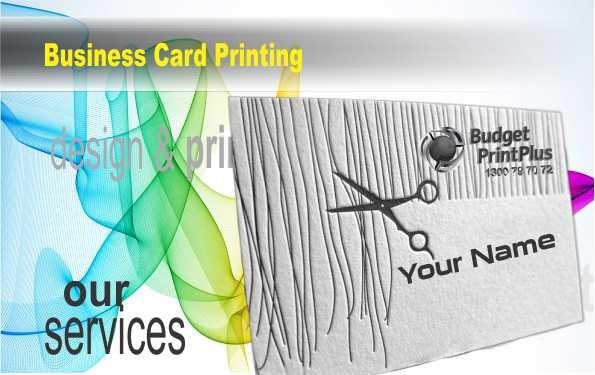 Elegant Linen Business Cards - 1