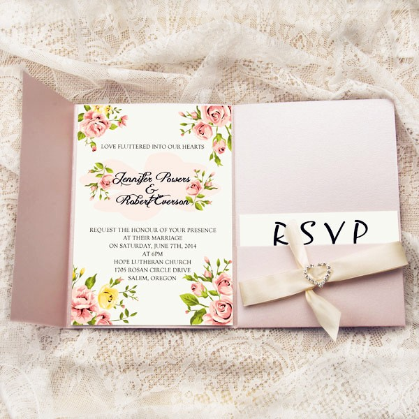 Wedding Invitation BPPWPF400622
