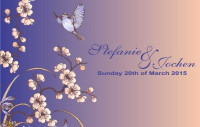 Wedding Invitation BPPSJZ201522