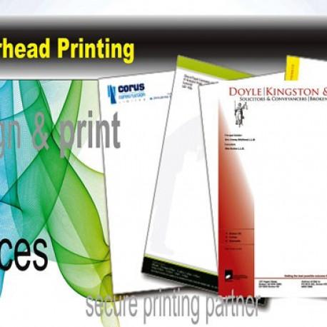 Letterhead printingcompany letterheadbudget print plus
