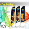 Banner Flags, (Double Sided)