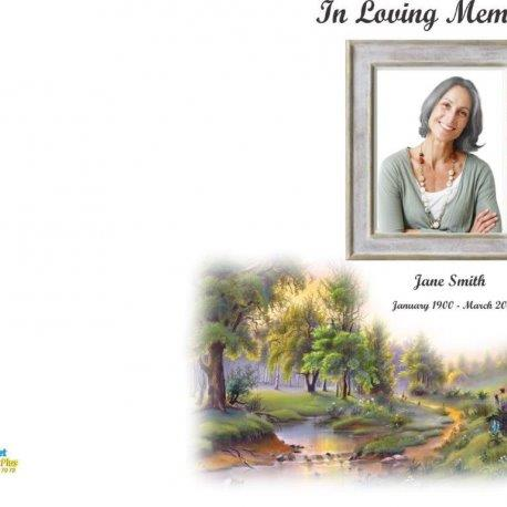 Order of Service|Bereavement Stationery