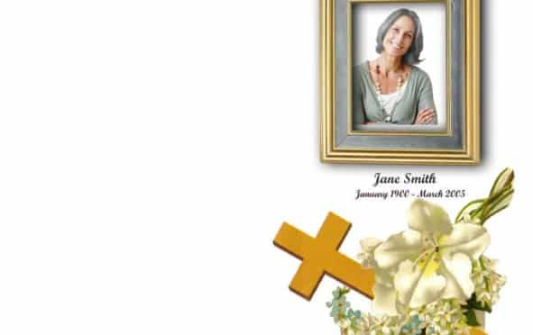 Order of Service|Funeral Program|