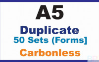 Invoice Books|Duplicate A5 Are ideal for sale and trades people on the move