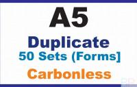 Invoice Books|Duplicate A5