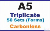 Invoice Book Triplicate A5