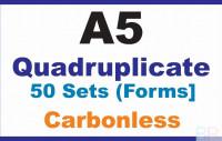 Invoice Books|Quadruplicate A5