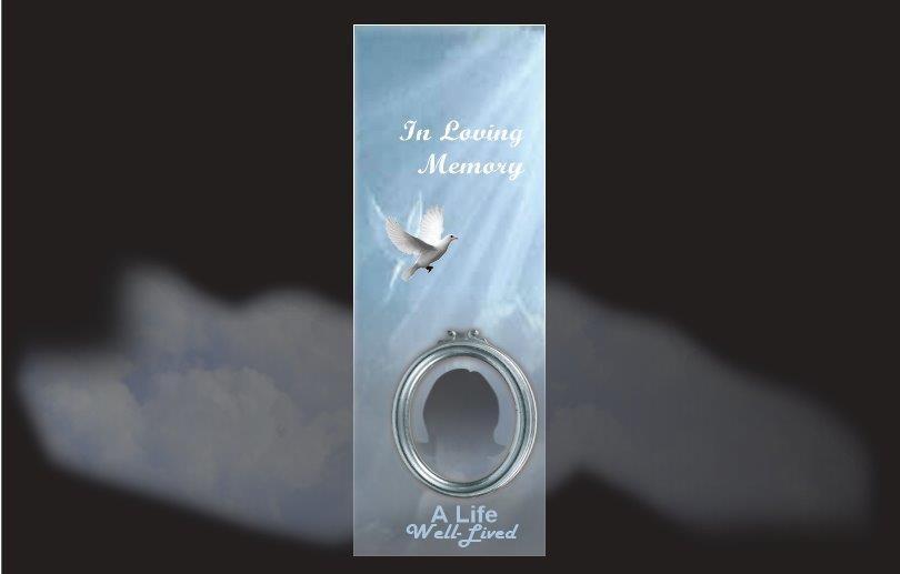 Memorial Bookmarks|Funeral Bookmarks| BPP6101