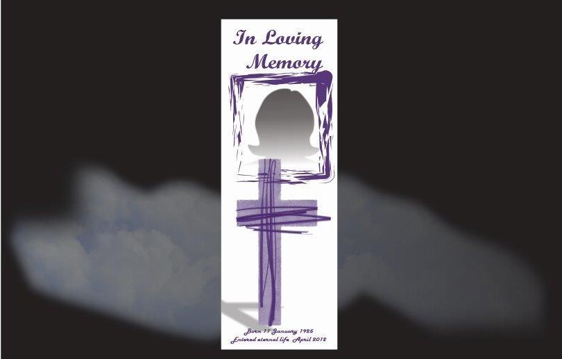 Memorial Bookmarks|Funeral Bookmarks|BPP61010
