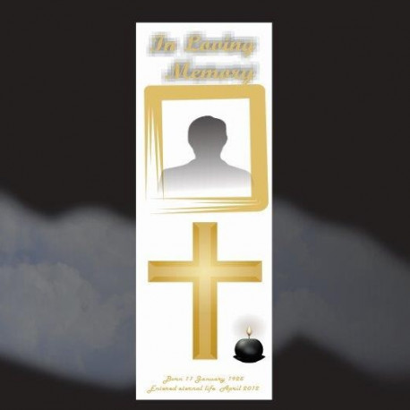 Memorial Bookmarks Funeral Bookmarks283