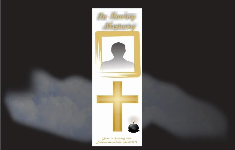 Memorial Bookmarks|Funeral Bookmarks|BPP61012