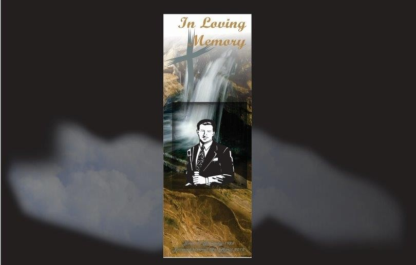 Funeral Book Marks, Memorial Bookmarks