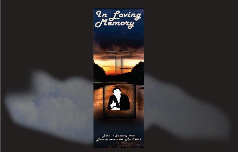 Funeral Book Marks, Memorial Bookmarks