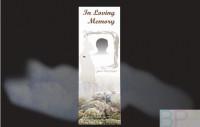 Memorial Bookmarks|Funeral Bookmarks|BPP6109