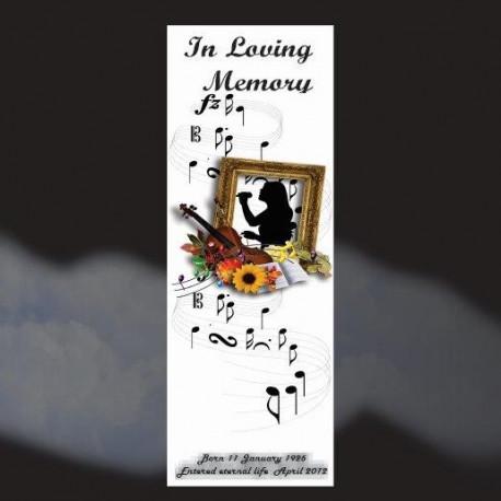 Memorial Bookmarks|Funeral Bookmarks288