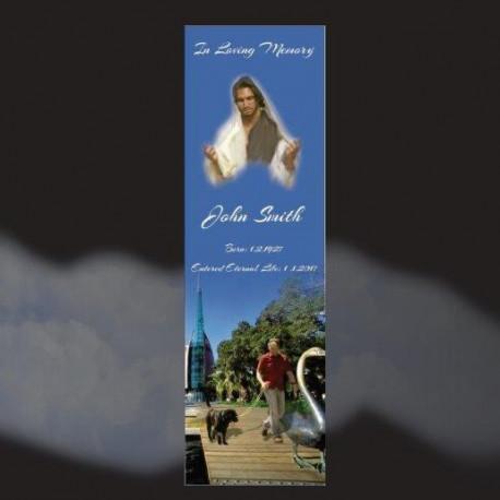 Memorial Bookmarks|Funeral Bookmarks407