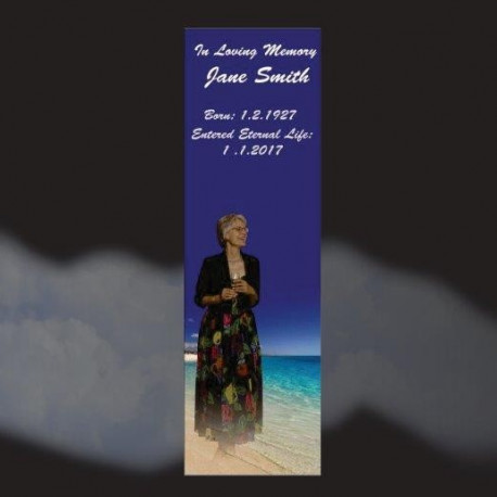 Memorial Bookmarks|Funeral Bookmarks429