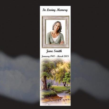 Memorial Bookmarks Funeral Bookmarks437