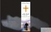 Memorial Bookmarks|Funeral Bookmarks|Pop walking on the jetty away fomr the Boat House