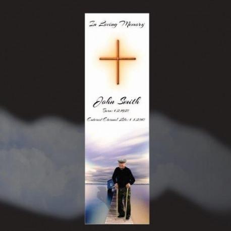 Memorial Bookmarks|Funeral Bookmarks406