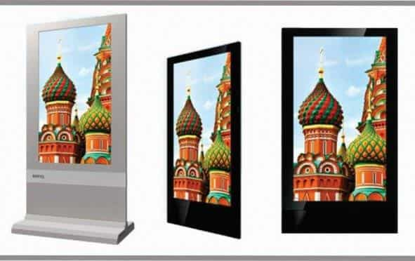 Dual Sided-Digital Signage