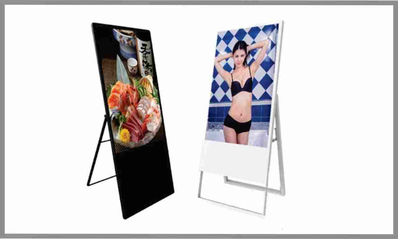 A Frame Digital Signage Portable
