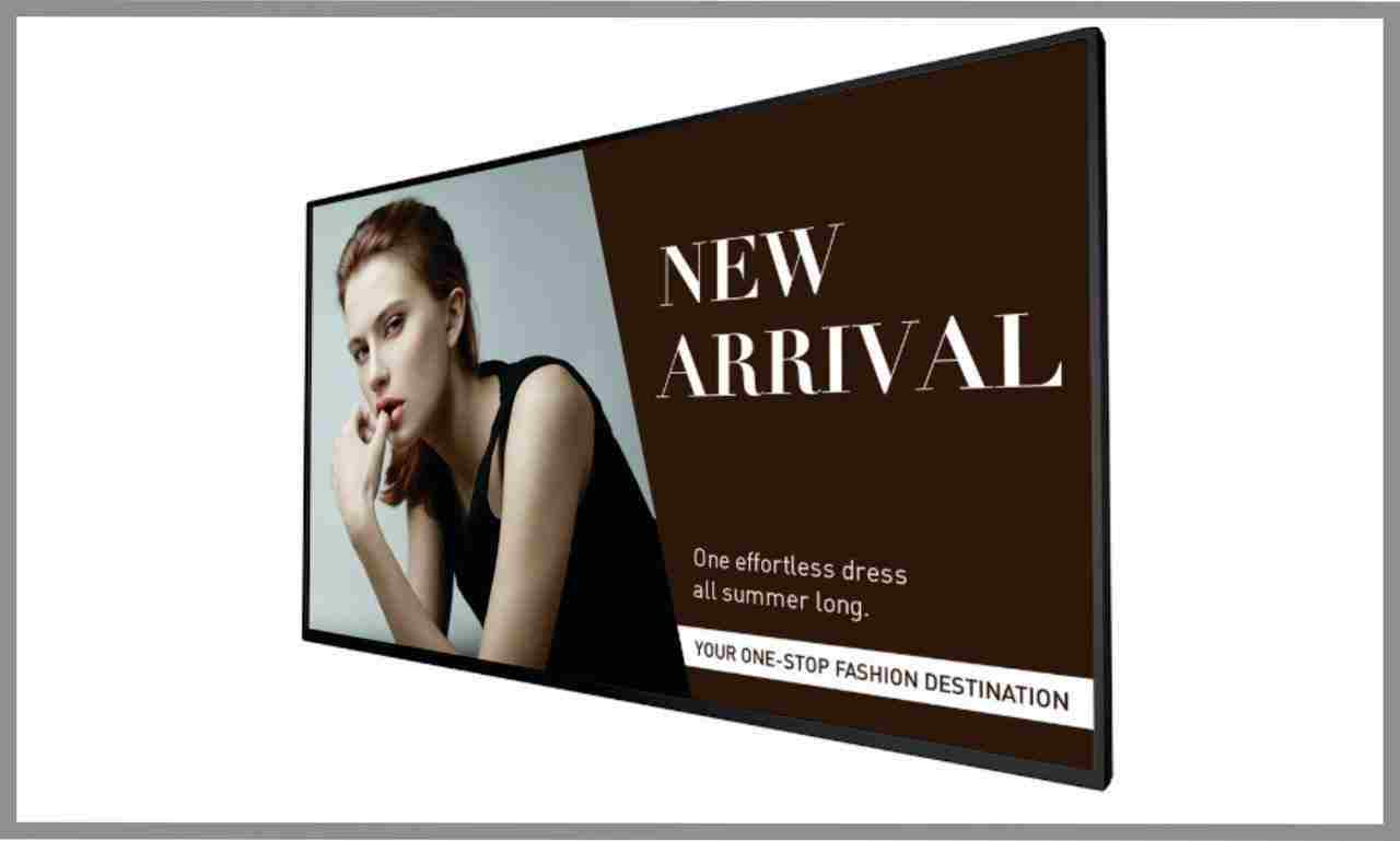 "BenQ SL490, 49"" Commercial LED Display"