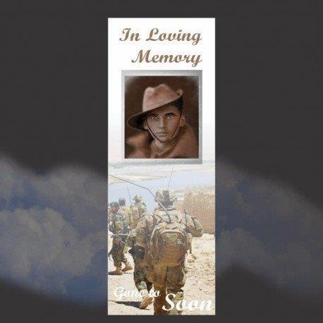Memorial Bookmarks|Funeral Bookmarks275
