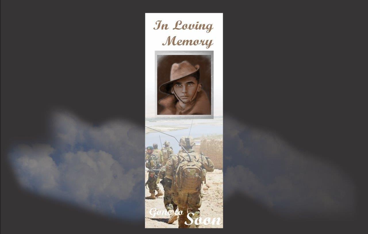 Memorial Bookmarks|Funeral Bookmarks| BPP6104