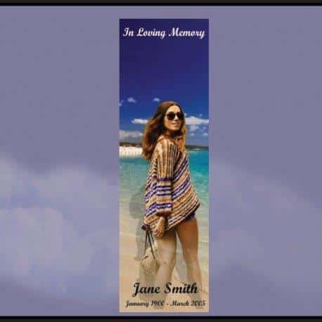 Memorial Bookmarks|Funeral Bookmarks273