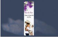 Memorial Bookmarks|Funeral Bookmarks|BPP6107