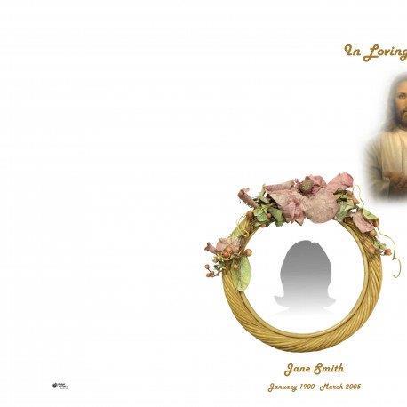 Order Of Service Booklet, Hymn Book, Funeral Program 494