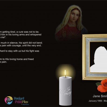 Order Of Service Booklet, Hymn Book, Funeral Program 495