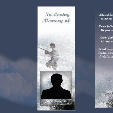 Memorial Bookmarks Funeral Bookmarks279