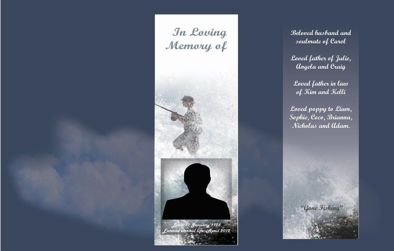 Memorial Bookmarks|Funeral Bookmarks|BPP6108