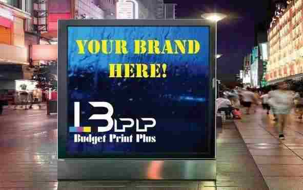 LED lightboxes that create a clearer and more visually appealing advertisement