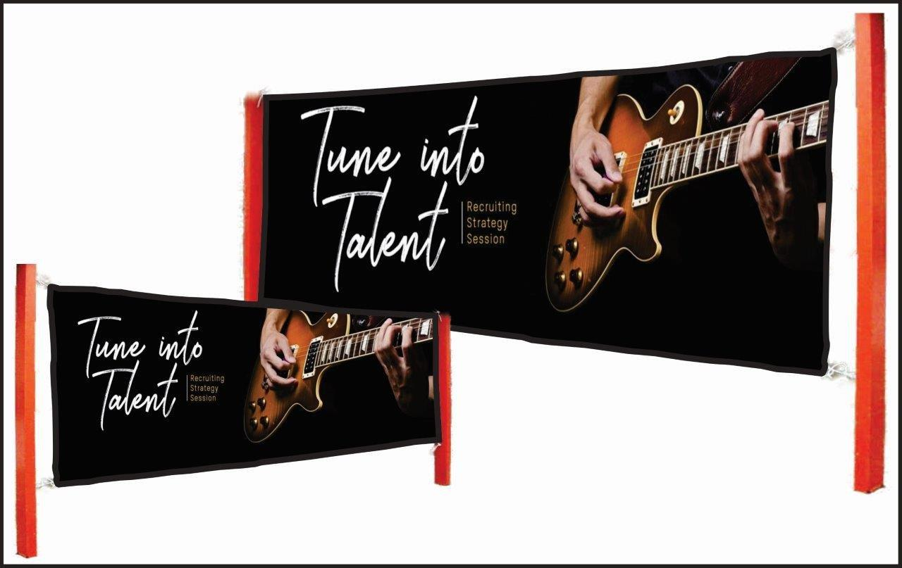 Use our high-resolution double-sided captivating vinyl banners to launch your product or service