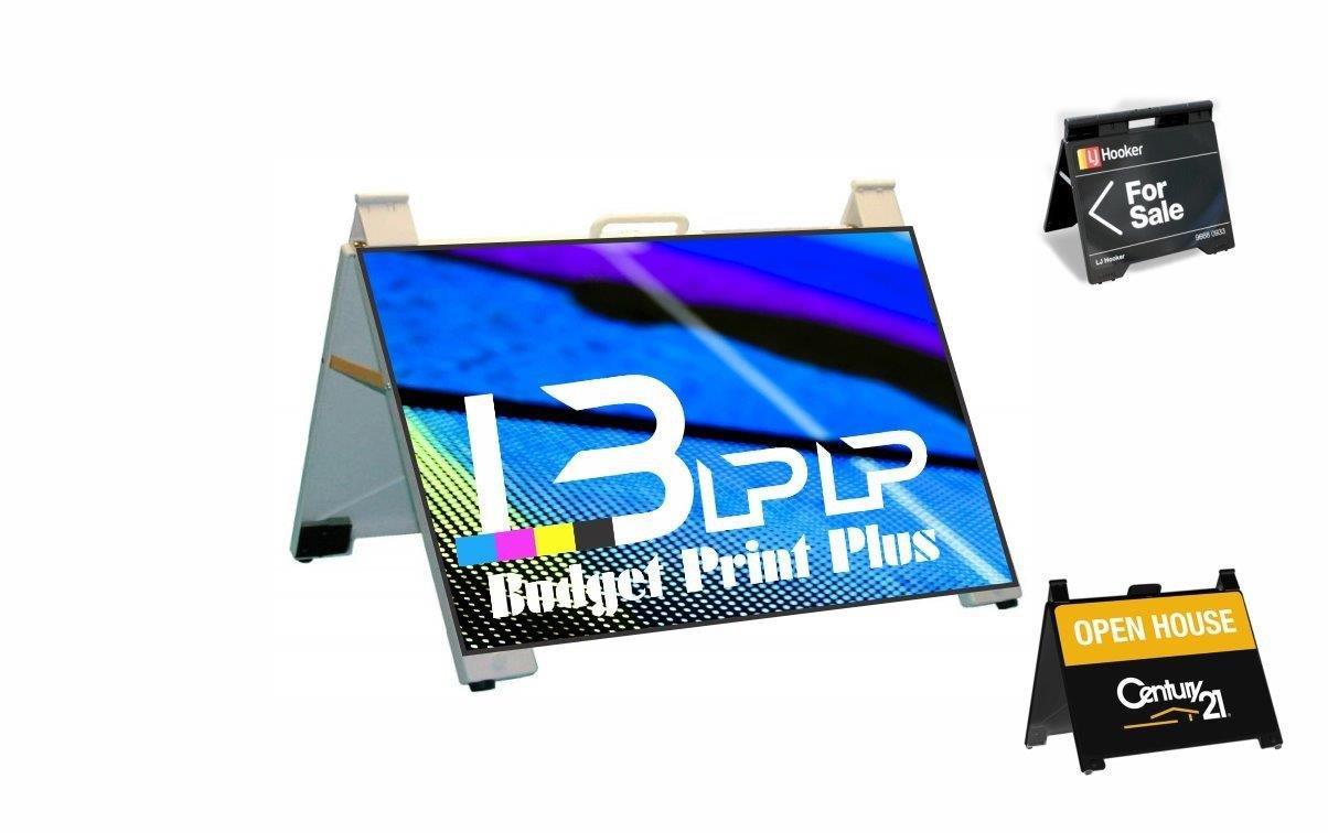 A Frame Sign|Flip A Frame|Budget Print Plus - 1