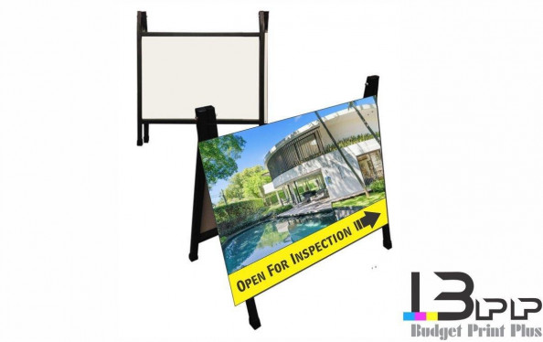 Open House Reverse Fold Sign