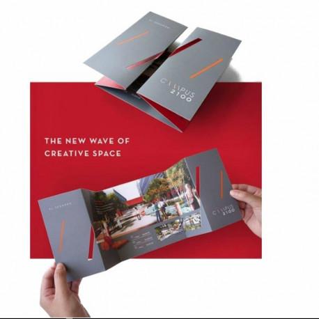 Printing Brochures Australia   A6 150GSM