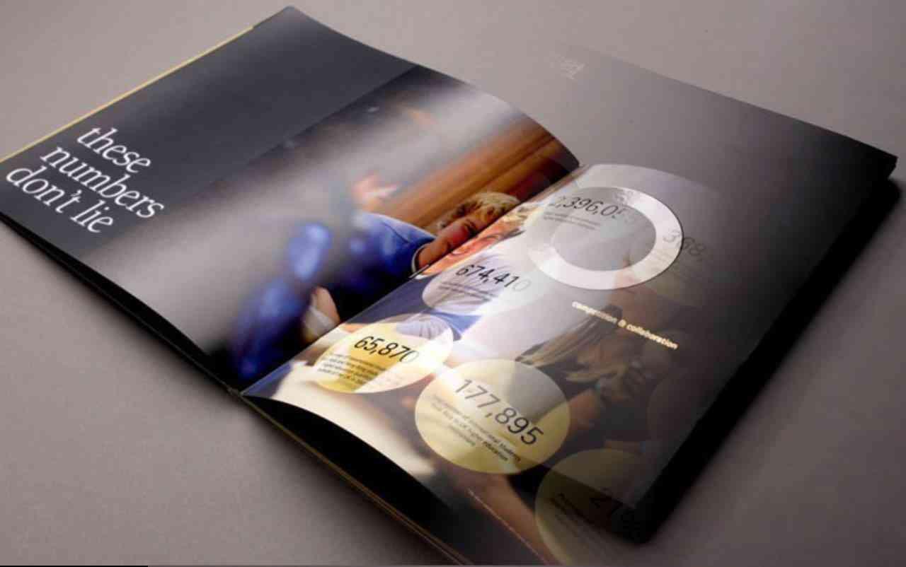 Brochure and Catalogue design unique folded brochures