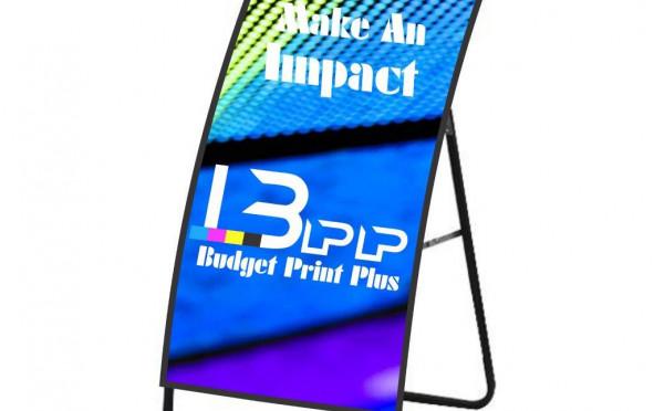 Metal Sheet Curved A-Frame Set