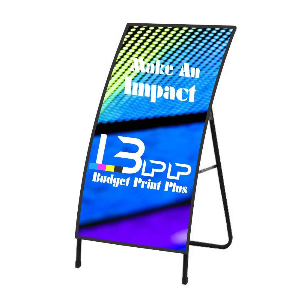 [Modern] Metal Sheet Curved A-Frame Set - 1
