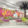 Hotel Lobby Canvas Wall Art