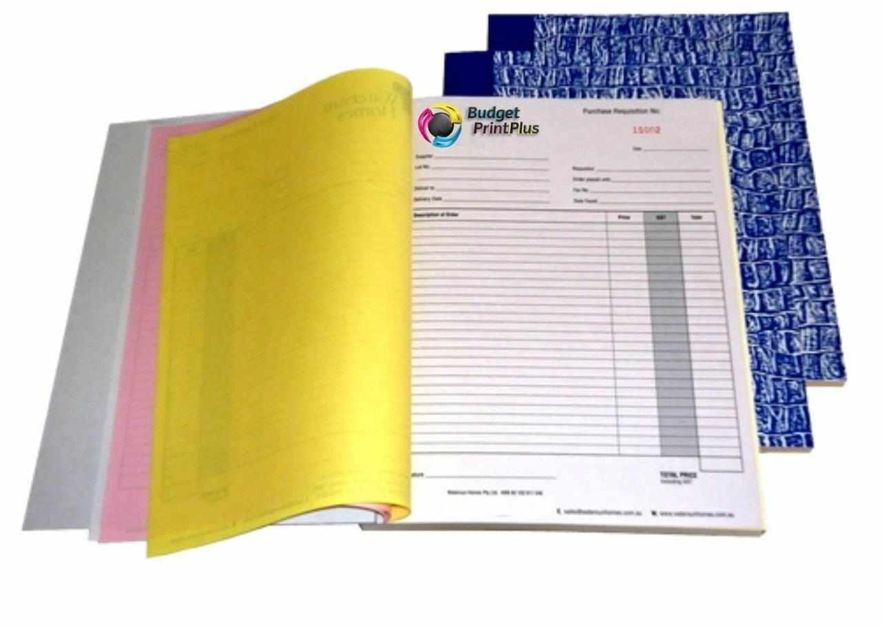 Keep your accountant, your clients and yourself happy by using us to Print your Custom Invoice Books & Pads.
