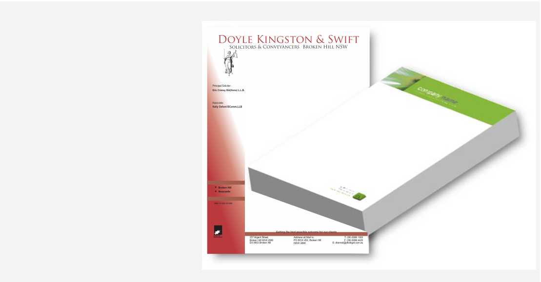 Image of Branded Bussiness Letterheads